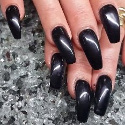 Perfect Nails UV/LED Coloured Gel Black Velvet Thumbnail